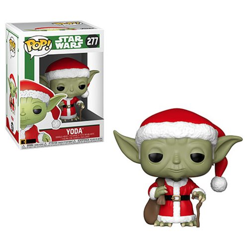 Star Wars Holiday Santa Yoda Pop! Vinyl Figure #277