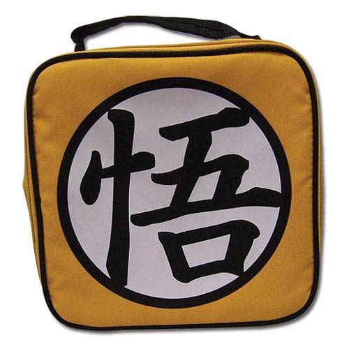 Dragon Ball Z Goku Symbol Soft Tote Yellow Lunch Box