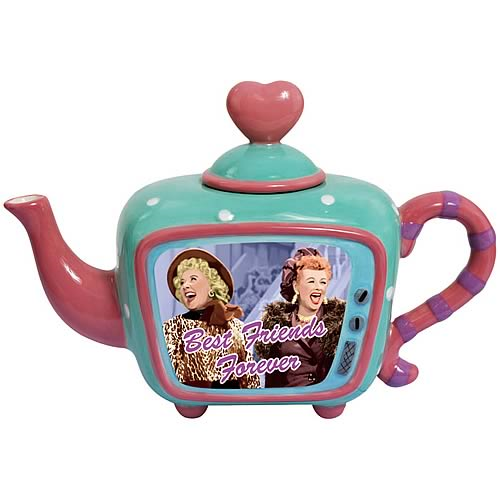 I Love Lucy Best Friends Forever Teapot