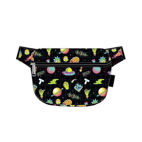 Rick and Morty Galaxy Print Fanny Pack