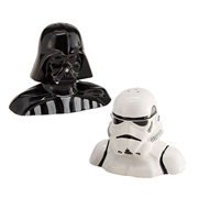 Star Wars Darth Vader & Stormtrooper Salt & Pepper Shakers