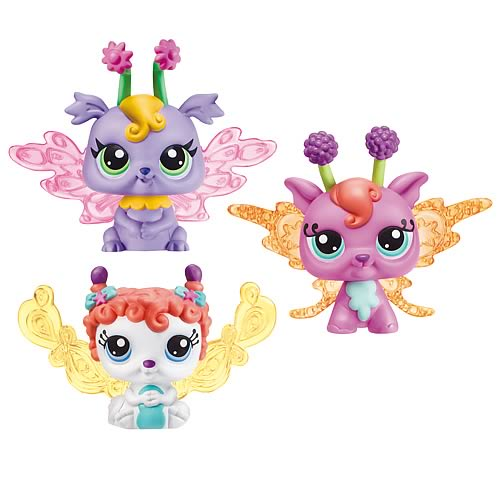 Littlest Pet Shop Enchanted Fairy Pets Wave 1
