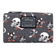 Disney Mickey and Minnie Halloween Flap Wallet