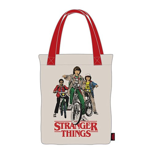 Stranger Things Bikes Canvas Tote