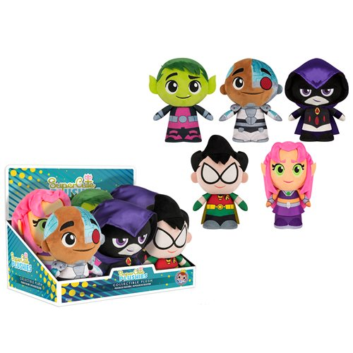 Teen Titans Go! 8-Inch Plush Display Case