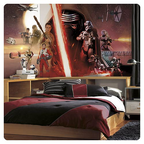 Star Wars: The Force Awakens Wallpaper Mural