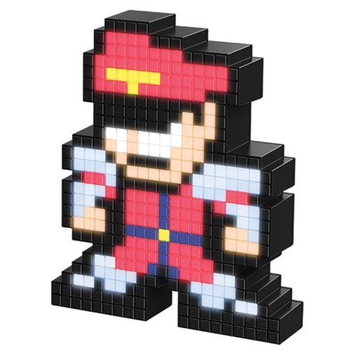 Pixel Pals Street Fighter II M.Bison Collectible Lighted Figure