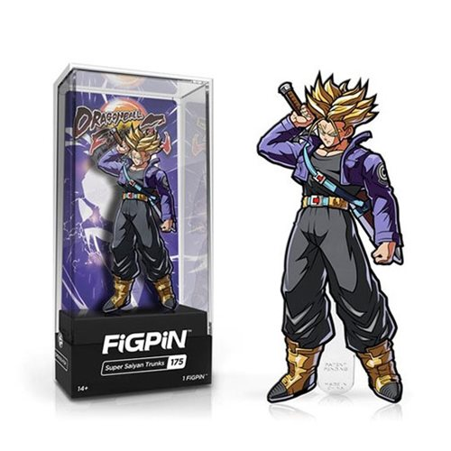 Dragon Ball FighterZ Super Saiyan Trunks FiGPiN Enamel Pin