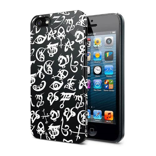 The Mortal Instruments City of Bones Black Rune iPhone 5 Case
