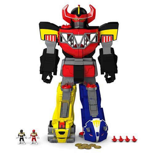 Mighty Morphin Power Ranger Imaginext Megazord Playset