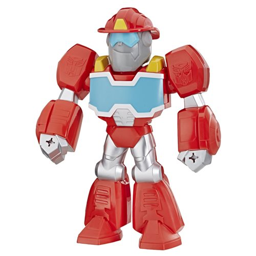 Transformers Rescue Bots Academy Mega Mighties Heatwave the Fire-Bot 10-Inch Robot Action Figure