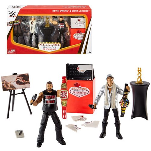 WWE Elite Epic Moments Festival of Friendship Chris Jericho and Kevin Owens Figure Multi-Pack