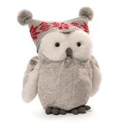 Twinkles Snow Owl 9-Inch Plush