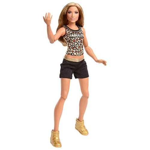WWE Superstars Carmella Fashion Doll