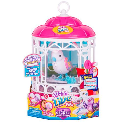 Little Live Pets Bird with Cage Series 7 Case