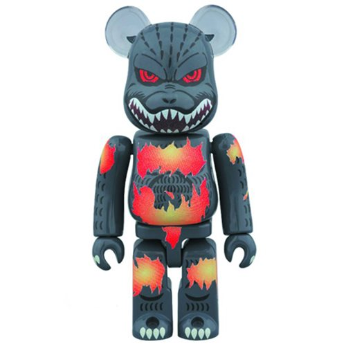 Godzilla Desgodzi Burning Version 1000% Bearbrick Figure