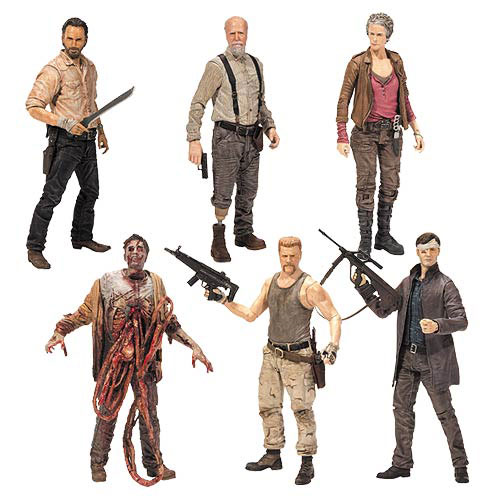 The Walking Dead TV Series 6 Action Figure Set
