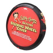 Betty Boop Skyline Steering Wheel Cover