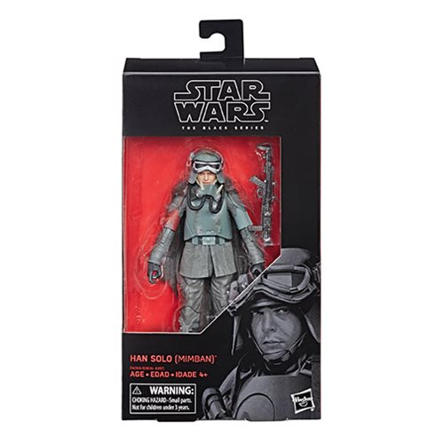 Star Wars The Black Series Han Solo (Mimban Mud Trooper) 6-Inch Action Figure