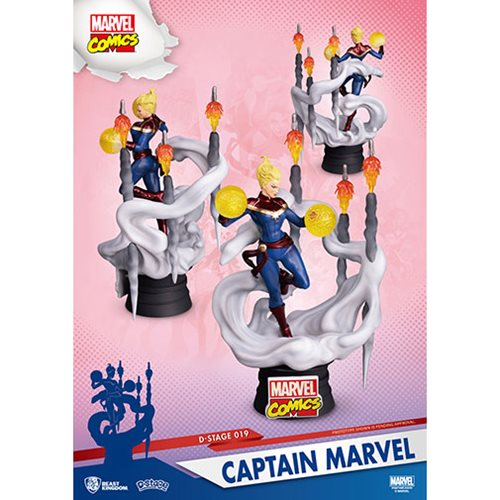 Captain Marvel DS-019 D-Stage 6-Inch Stage - Previews Exclusive