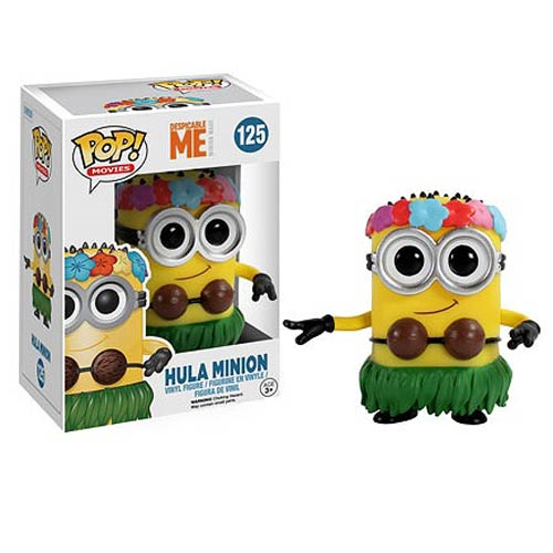 Despicable Me Movie Hula Minion Pop! Vinyl Figure