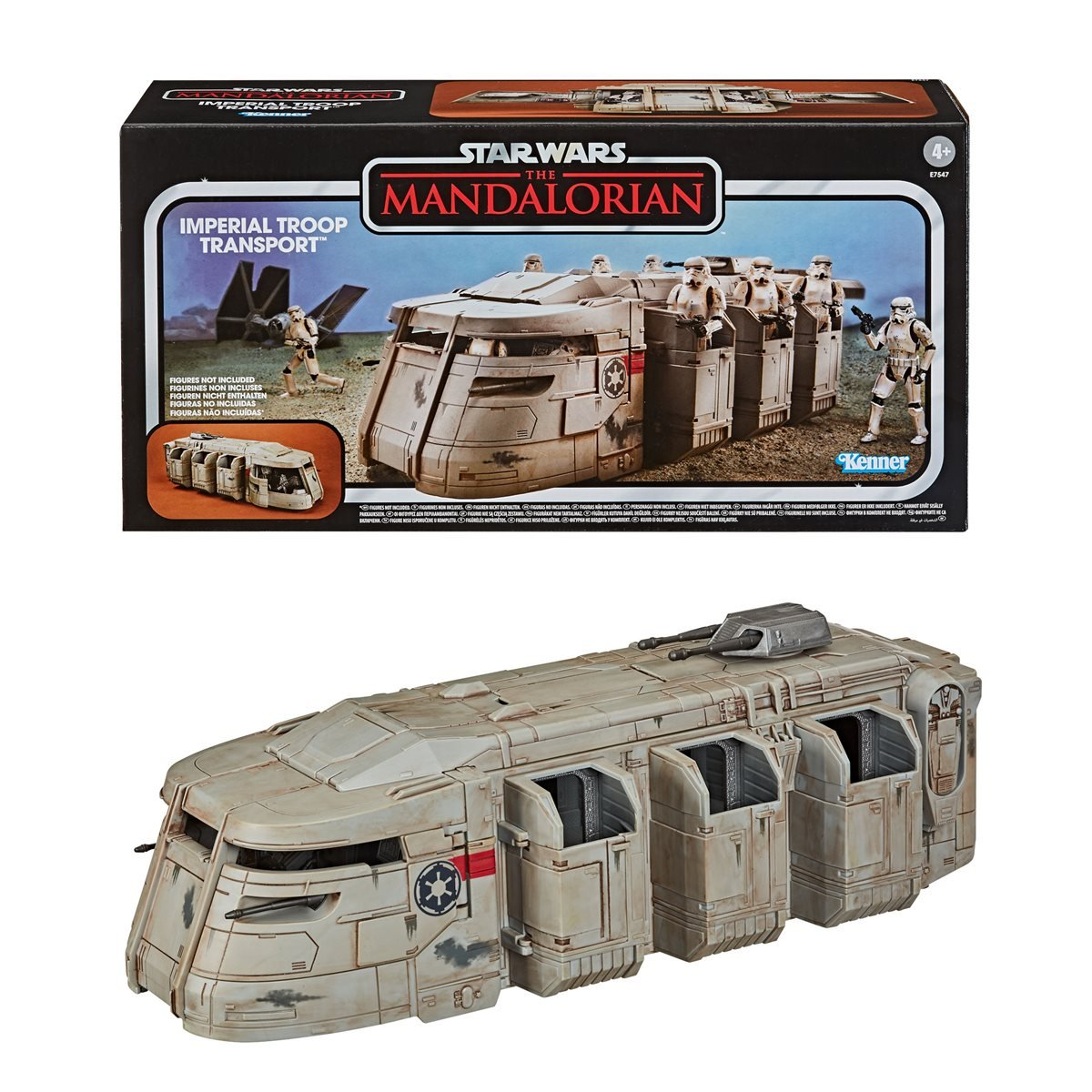 Star Wars The Vintage Collection The Mandalorian Imperial Troop Transport Toy Ve