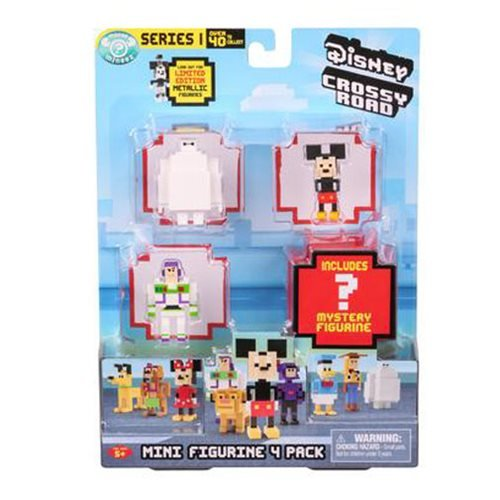 Disney Crossy Road Random Mini-Figure Series 2 4-Pack
