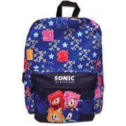 Sonic the Hedgehog Pattern Backpack