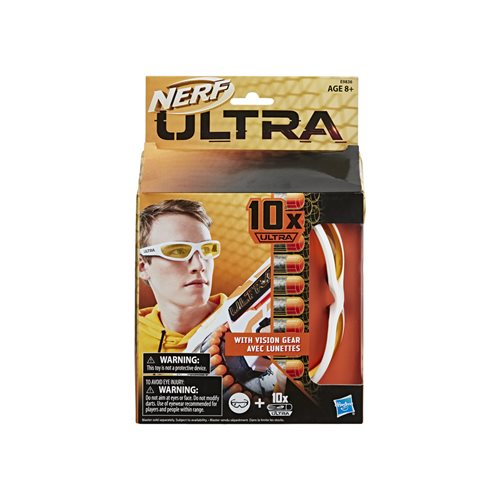 Nerf Ultra Vision Gear and 10 Nerf Ultra Darts