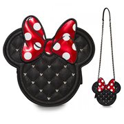 Minnie Mouse Die-Cut Quilted Cross-Body Purse
