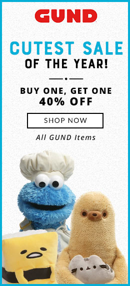 Cutest Sale of the Year BOGO 40% Off GUND