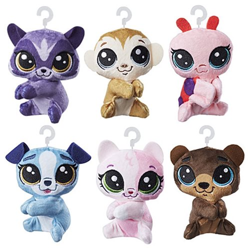 Littlest Pet Shop Clip-a-Pet Plush Wave 1 Set