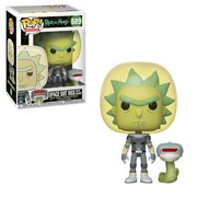 Rick and Morty Space Suit Rick With Snake Pop! Vinyl Figure