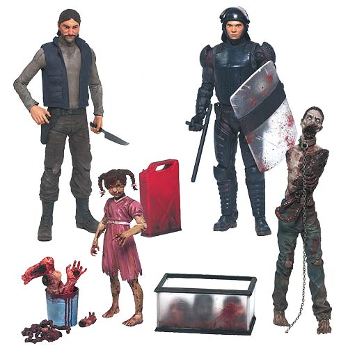 The Walking Dead Comic Series 2 Action Figure Set
