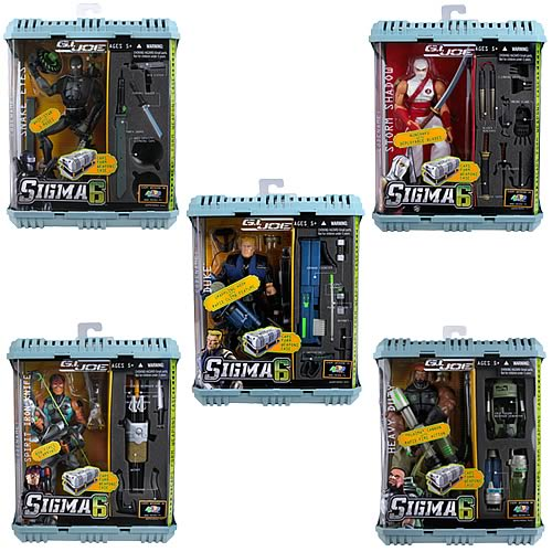 G.I. Joe Sigma 6 Commando Assortment Wave 1
