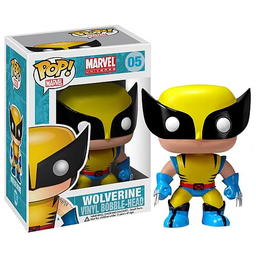 X-Men Wolverine Marvel Pop! Vinyl Bobble Head