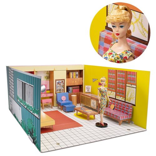 Barbie 1962 Dream House with Doll