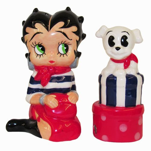 Betty Boop Salt and Pepper Shaker Set