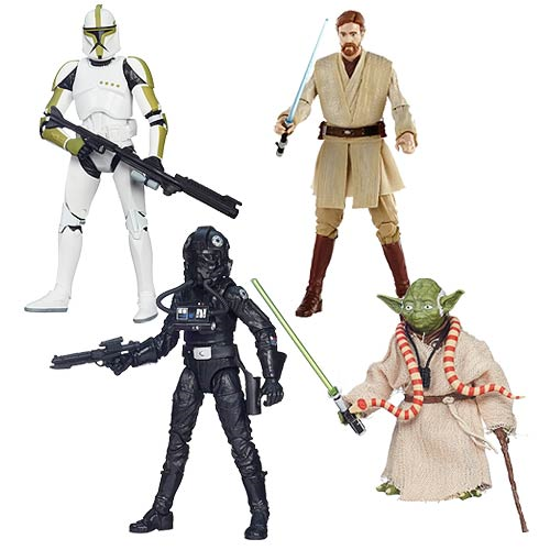 Star Wars The Black Series 6-Inch Action Figures Wave 6 Case