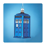 Doctor Who 4 1/4-Inch TARDIS Figural Ornament, Not Mint
