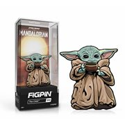 Star Wars: The Mandalorian The Child with Soup FiGPiN 3-Inch Enamel Pin