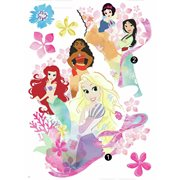 Disney Princesses Palace Garden X-Large Peel and Stick Wall Decal