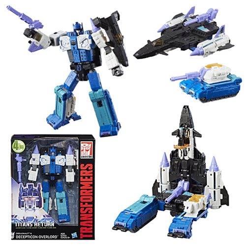 Transformers Titans Return Leader Decepticon Overlord