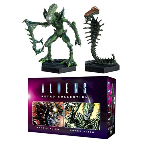 Aliens Mantis and Snake Retro Figure Collection #1 Set