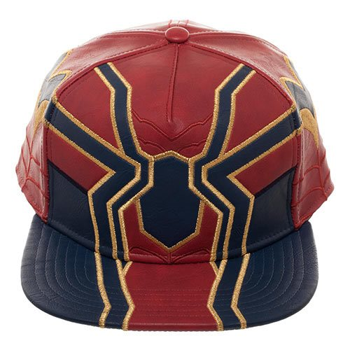 Avengers: Infinity War Iron Spider PU Suit Up Snapback Hat