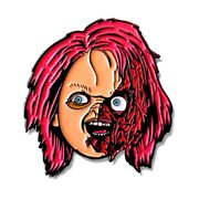 Chucky Slashed Enamel Pin