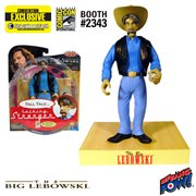 The Big Lebowski Talking The Stranger Figure - Convention Exclusive, Not Mint