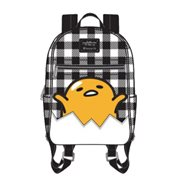 Gudetama Eggshell Gingham Mini Backpack