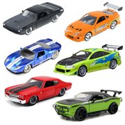 Fast and Furious 1:32 Scale Die-Cast Vehicle Wave 6 Case