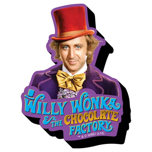 Willy Wonka and the Chocolate Factory Funky Chunky Magnet
